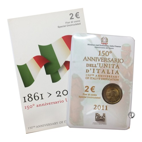 Italia - 2011 - 2€ Unità d'Italia