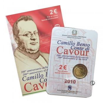 Italia - 2010 - 2€ Cavour