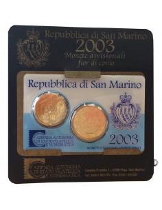 San Marino - 2003 - Mini Set 20 c.+50 c.