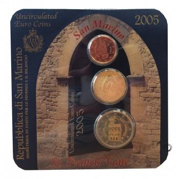 San Marino - 2005 - Mini Set 2c.+20c.+2€