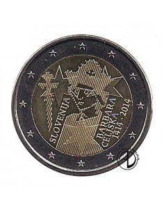 Slovenia - 2014 - 2€ Cilli