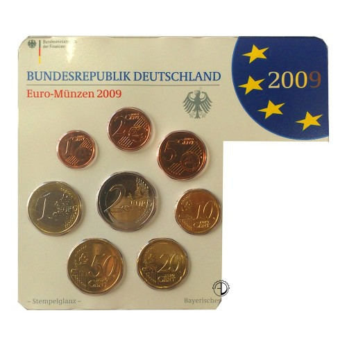 Germania - 2009 - Serie Sciolta 8 v.