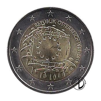 Austria - 2015 - 2€ 30° Bandiera
