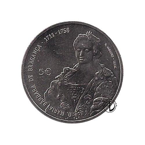 Portogallo - 2017 - 5€ Regina Maria Barbara