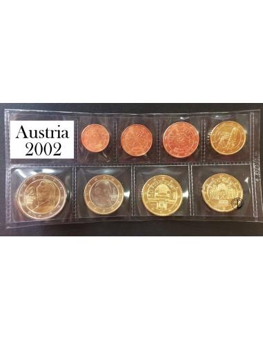 Austria - 2002 - Serie Sciolta 8 v.