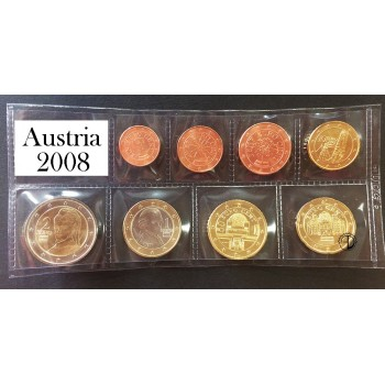 Austria - 2008 - Serie Sciolta 8 v.