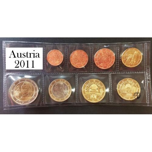 Austria - 2011 - Serie Sciolta 8 v.