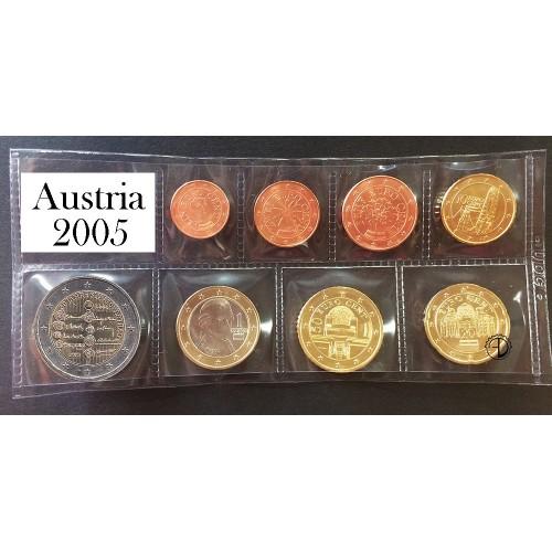 Austria - 2005 - Serie Sciolta 8 v.