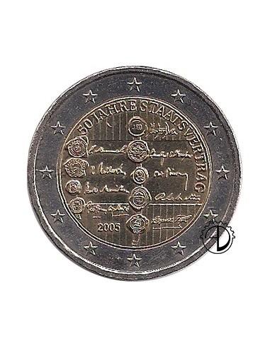 Austria - 2005 - 2€ Trattato di Stato