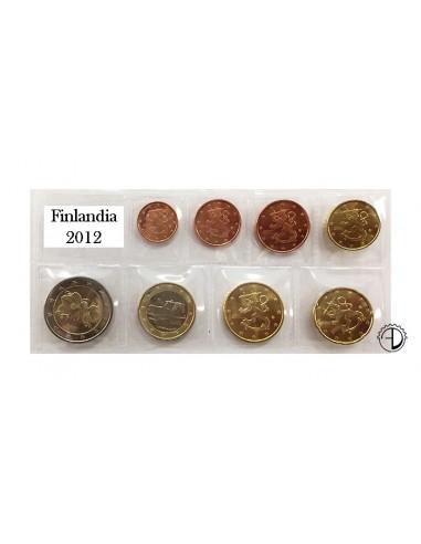Finlandia - 2012 - Serie Sciolta 8 v.