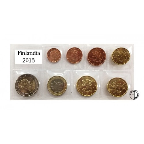 Finlandia - 2013 - Serie Sciolta 8 v.