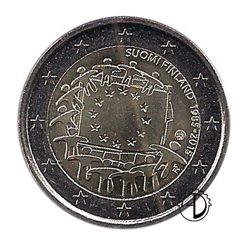 Finlandia - 2015 - 2€ 30° Bandiera