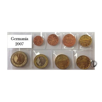 Germania - 2007 - Serie Sciolta 8 v.