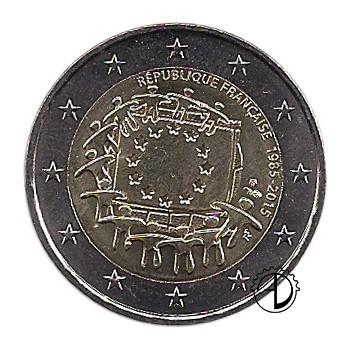 Francia - 2015 - 2€ 30° Bandiera