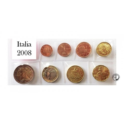 Italia - 2008 - Serie Sciolta 8 v.