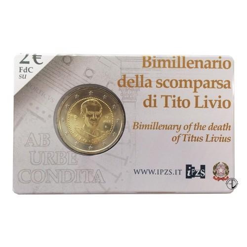Italia - 2017 - 2€ Tito Livio in Blister