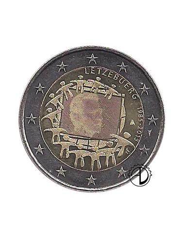 Lussemburgo - 2015 - 2€ 30° Bandiera
