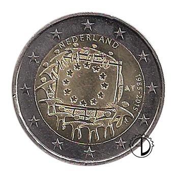 Olanda - 2015 - 2€ 30° Bandiera