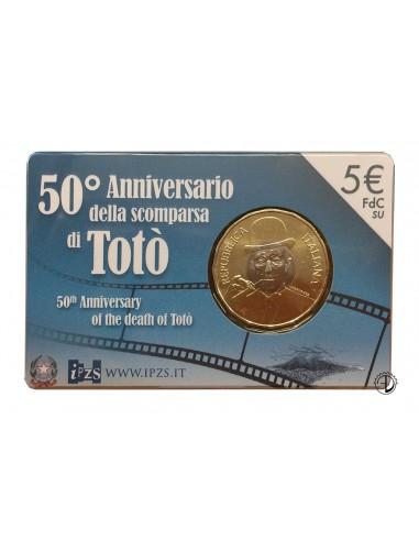 Italia - 2017 - 5€ Totò