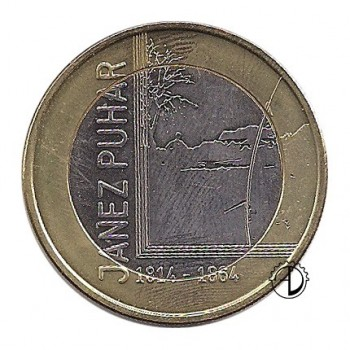 Slovenia - 2014 - 3€ J. Puhar