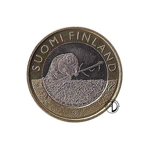 Finlandia - 2015 - 5€ Satakunta: Castoro