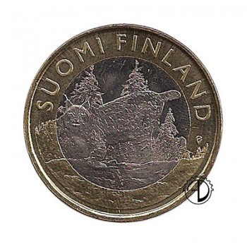 Finlandia - 2015 - 5€ Tavastia: Lince