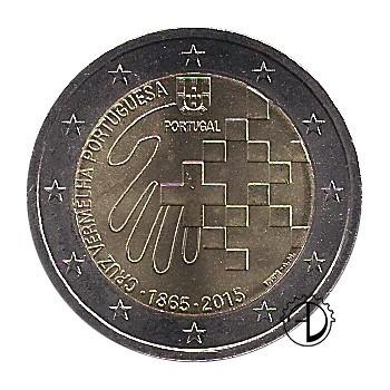 Portogallo - 2015 - 2€ Croce Rossa