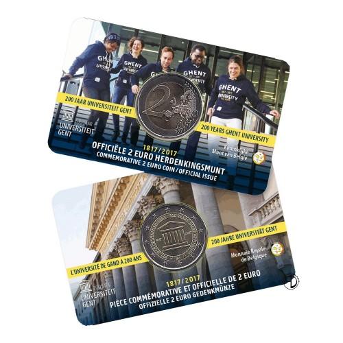 Belgio - 2017 - 2€ Università Gent (versione francese)