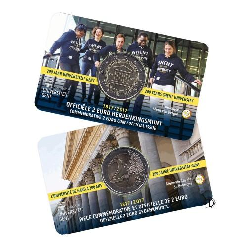 Belgio - 2017 - 2€ Università Gent (versione olandese)