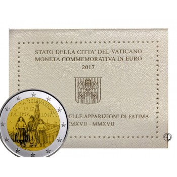 Vaticano - 2017 - 2€ Fatima