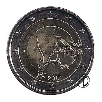 Finlandia - 2017 - 2€ Natura Finlandese