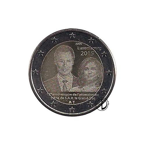 Lussemburgo - 2015 - 2€ Henry