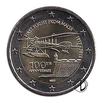 Malta - 2015 - 2€ Primo Volo
