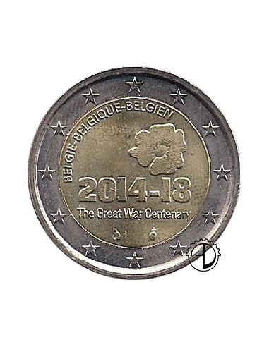Belgio - 2014 - 2€ 1° Guerra Mondiale