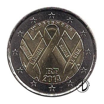 Francia - 2014 - 2€ AIDS
