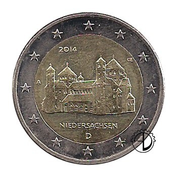 Germania - 2014 - 2€ Chiesa di Hidelsheim