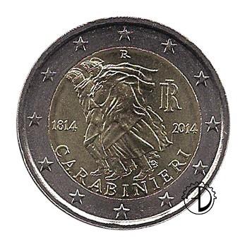 Italia - 2014 - 2€ Carabinieri