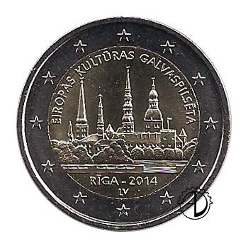 Lettonia - 2014 - 2€ Riga