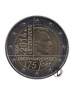 Lussemburgo - 2014 - 2€ Indipendenza