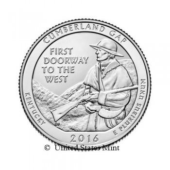 USA 1/4$ 2016 Cumberland