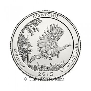 USA 1/4$ 2015 Kisatchie