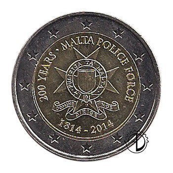 Malta - 2014 - 2€ Polizia