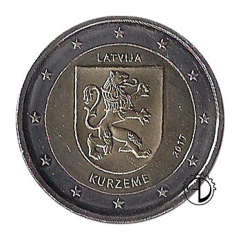 Lettonia - 2017 - 2€ Curlandia