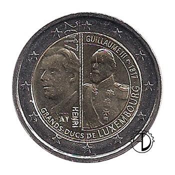 Lussemburgo - 2017 - 2€ Guglielmo III