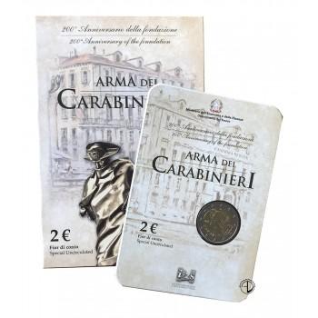 Italia - 2014 - 2€ Carabinieri in Blister