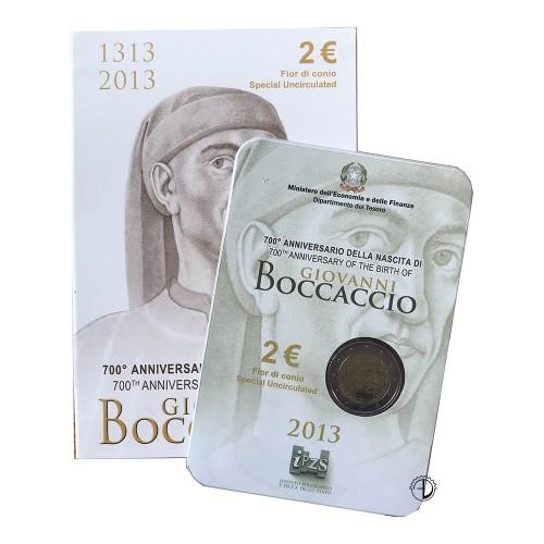 Italia - 2013 - 2€ Boccaccio in Blister