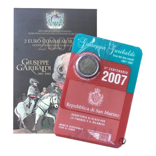 San Marino - 2007 - 2€ Garibaldi