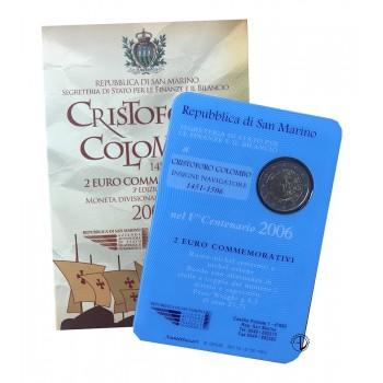 San Marino - 2006 - 2€ Colombo