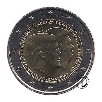 Olanda - 2014 - 2€ Nuovo Re