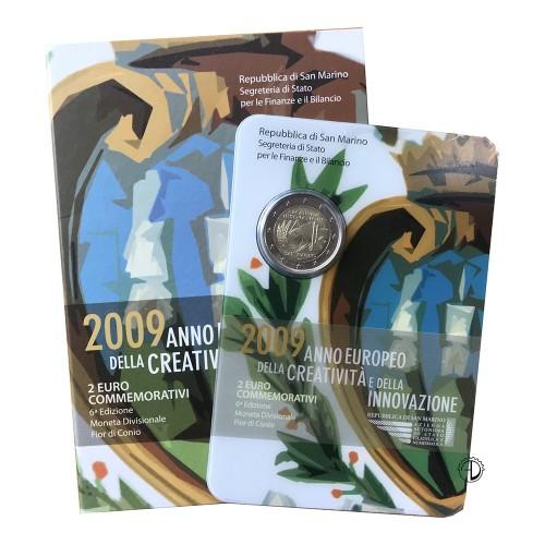 San Marino - 2009 - 2€ Creatività